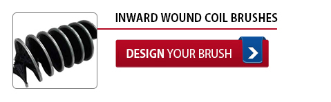 Inward Wound Coil Brushes - Design Your Brush