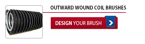 Outward Wound Coil Brushes - Design Your Brush