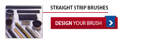 Straight Strip Brushes - Design Your Brush