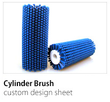 Cylinder Brush Custom Design Sheet