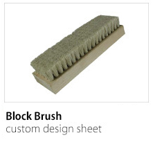 Block Brush Custom Design Sheet