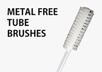 Metal Free Tube Brushes