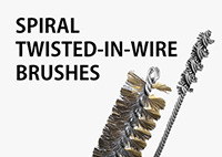 Spiral-Twisted-In-Wire Brushes