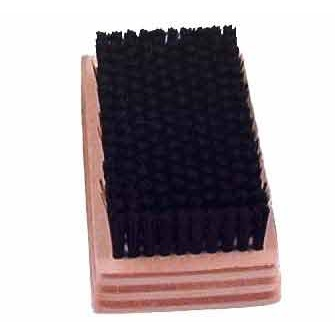 "0.012"" Nylon Bristle, 4-1/4"" x 2-1/2"" Wood Block Brush"