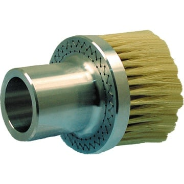 "0.016"" Static-dissipative Nylon Bristle Heavy Duty Vacuum Brush"