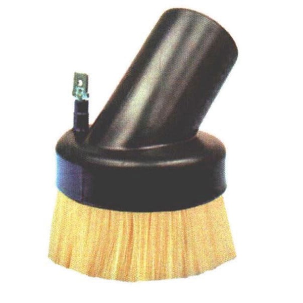 "0.016"" Static Dissipative Nylon, Molded Plastic Head, Anti-Static Vacuum Brush"