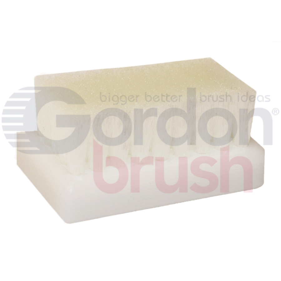 ".006"" Nylon Bristle and Plastic Block Scrub Brush"