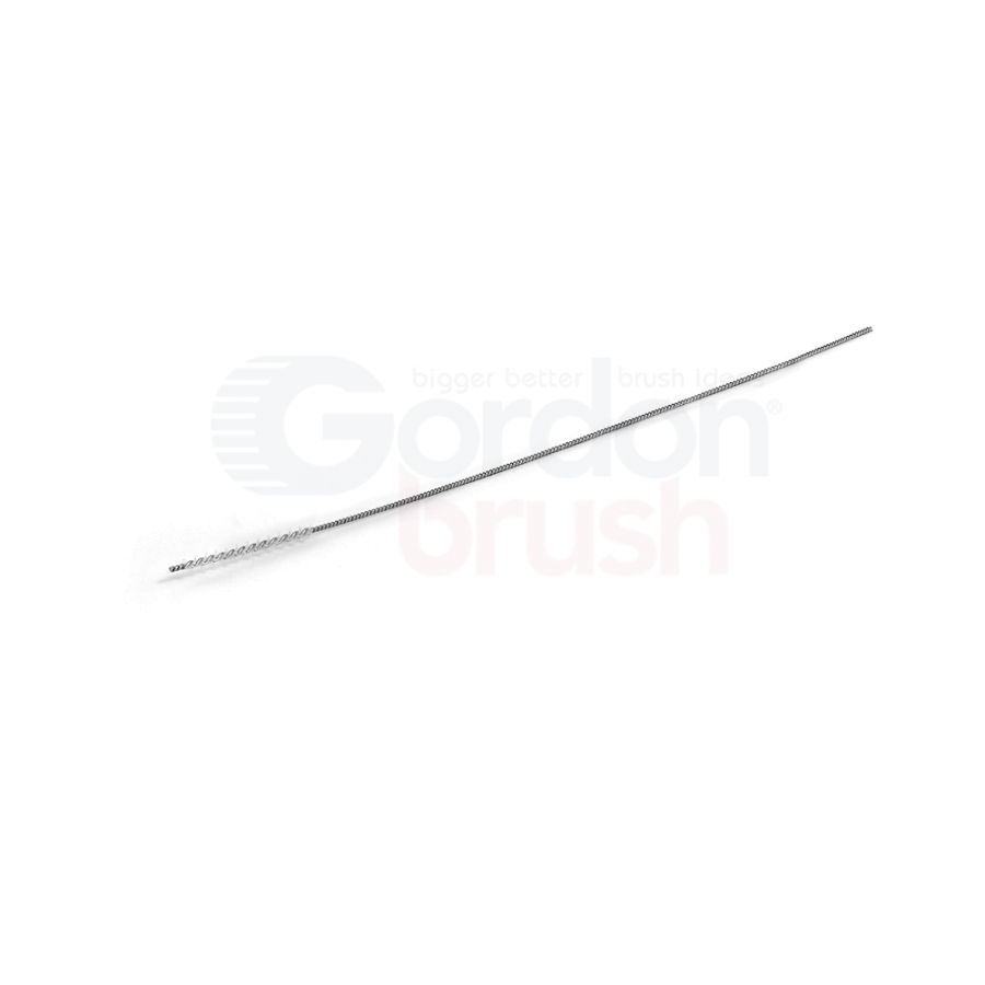 ".052"" Diameter with Silicate and Stainless Steel Stem Wire Micro Spiral Brush"