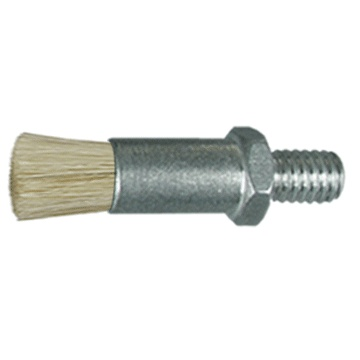 "1/4"" Diameter Body, Horse Hair Fill,  .033"" Orifice, Male Thread, Flow Thru Brush"