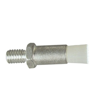 "1/4"" Diameter Body, Nylon Fill, .033"" Orifice, Male Thread Flow Through Brush"