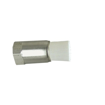 "1/4"" Diameter Body, Nylon Fill, .038"" Orifice, Female Thread Flow Through Brush"