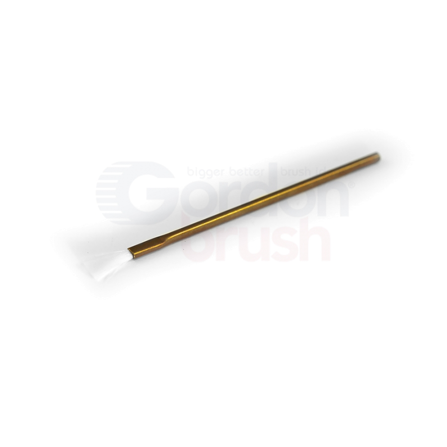 "1/8"" Diameter .003"" Nylon Fill 1/2"" Trim and Brass Handle Applicator Brush"