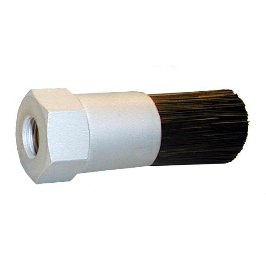 "1"" Diameter Body, Nylon Fill, .125"" Orifice, Female Thread Flow Through Brush"