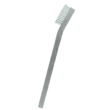 "1 x 11 Row 0.006"" PEEK and Aluminum Handle Hand-Laced Brush"
