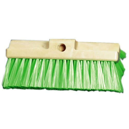 "10"" Multi Level Wash Brush – Green Polyester (soft)"