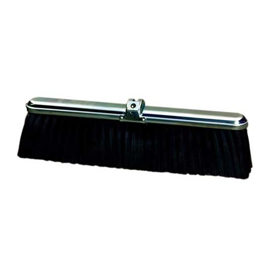 "18"" Polypropylene Floor Broom - For Rough Surfaces"