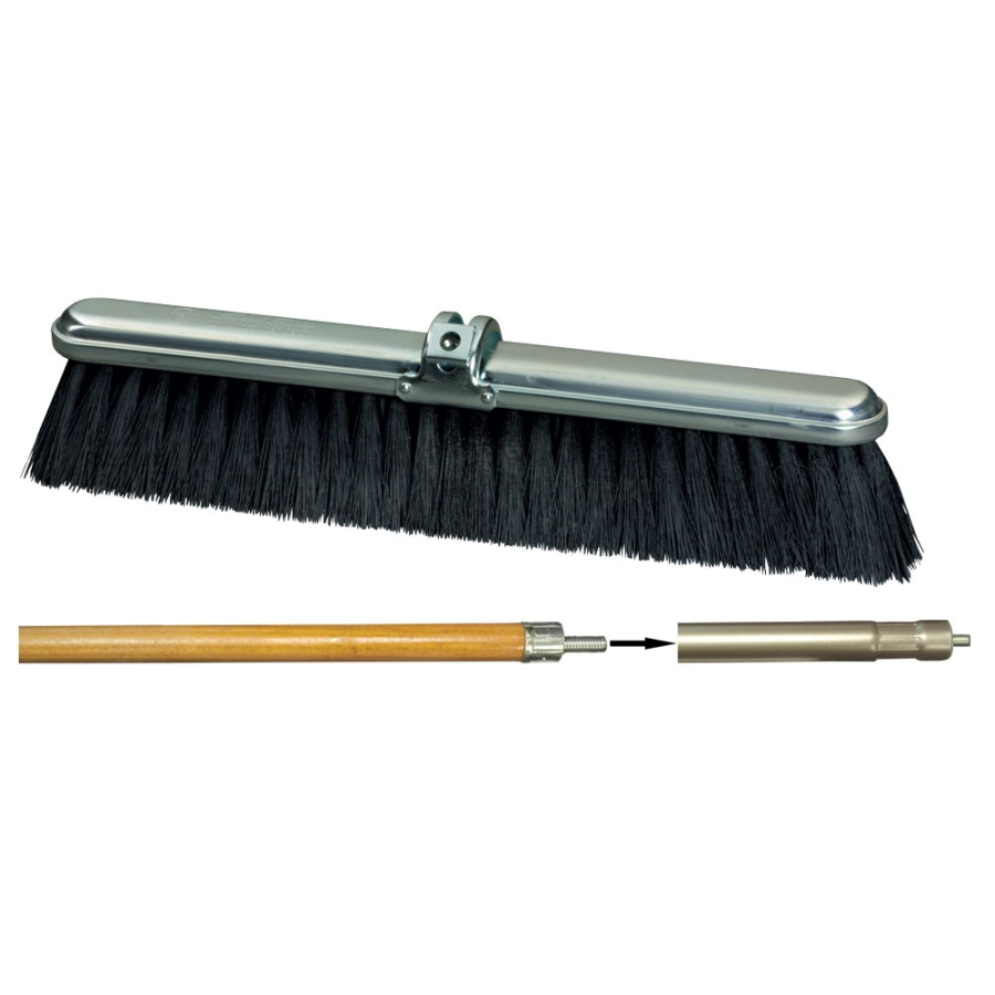 "18"" Speed Sweep® Average Duty Poly Brush"