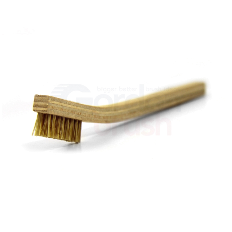 2 x 8 Row Hog Bristle and Plywood Handle Brush