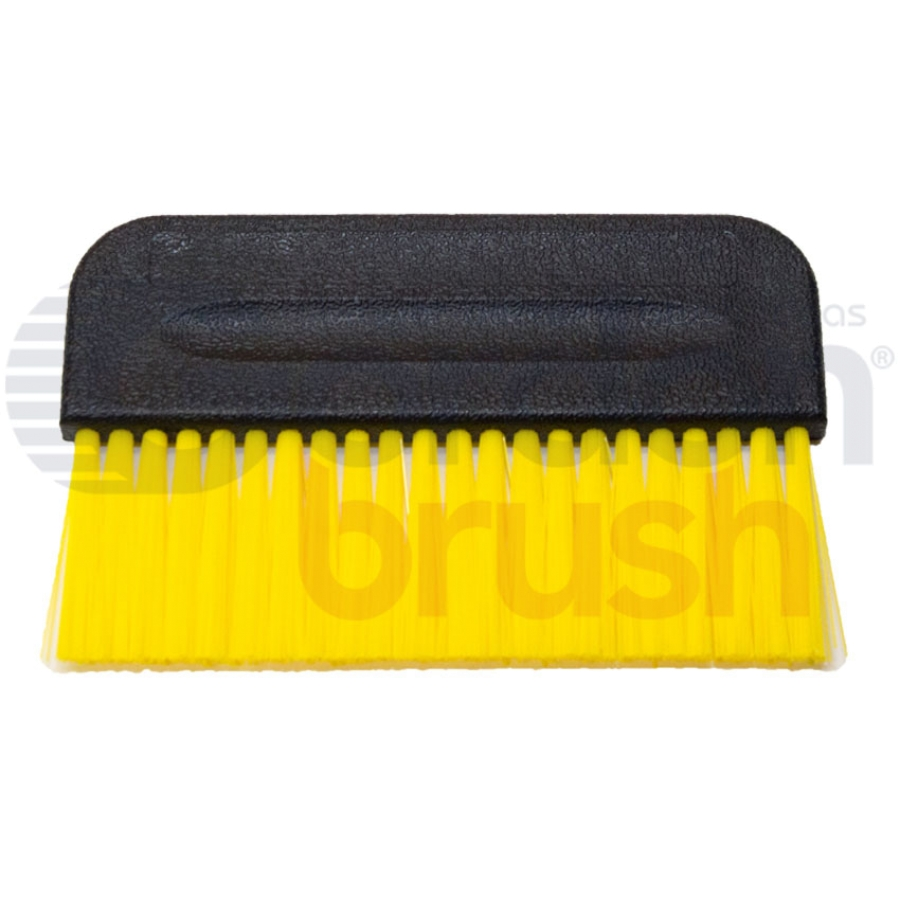 "3-1/2"" x 3/8"" .010"" Static Dissipative Nylon Bristle Short Handle Brush"