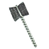 "3/8"" Brush Diameter .008"" Fill Wire Diameter Side Action Brush-Paddle Brush - Stainless Steel"