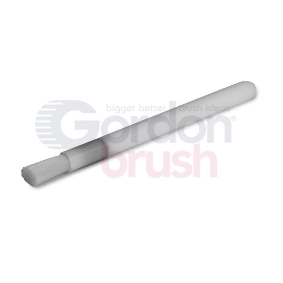 "3/8"" Diameter .008"" Nylon Applicator Brush with High Temp Glue"