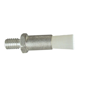 "3/8"" Diameter Body, Nylon Fill, .063"" Orifice, Male Thread Flow Through Brush"