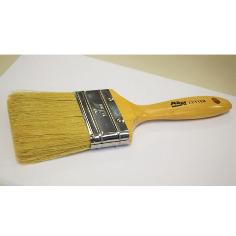 "3"" Cutter Paint Brush for Maritime Paint and Finishes"
