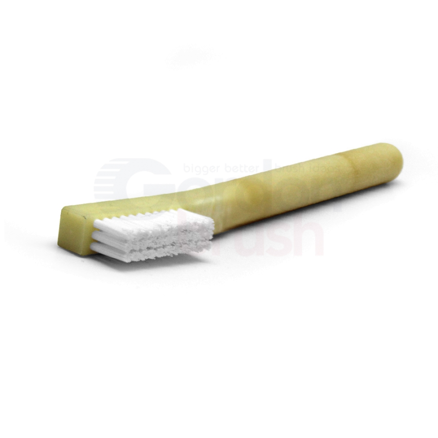 "3 x 11 Row 0.010"" Static Dissipative Nylon Bristle and Static Dissipative Acetal Handle Brush 3"