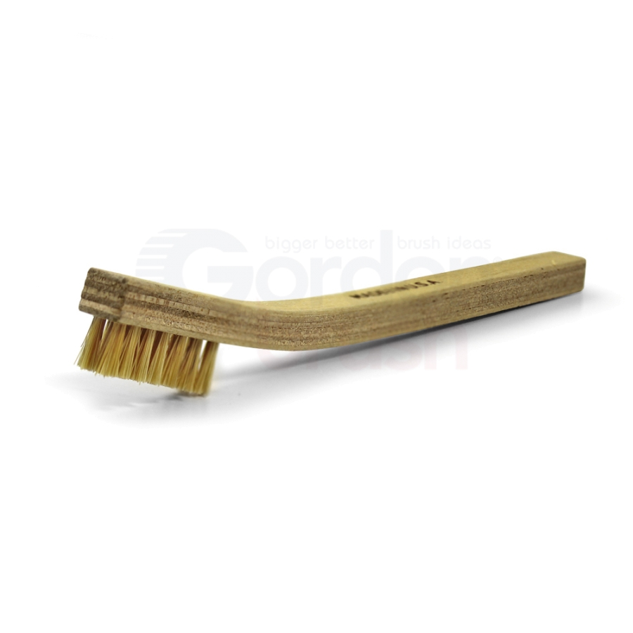 3 x 7 Row Hog Bristle and Plywood Handle Scratch Brush