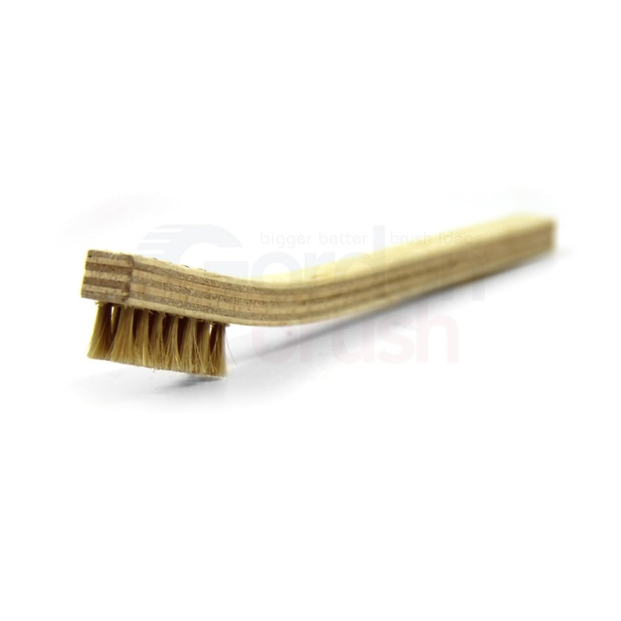 3 x 7 Row Horse Hair Bristle and Plywood Handle Brush