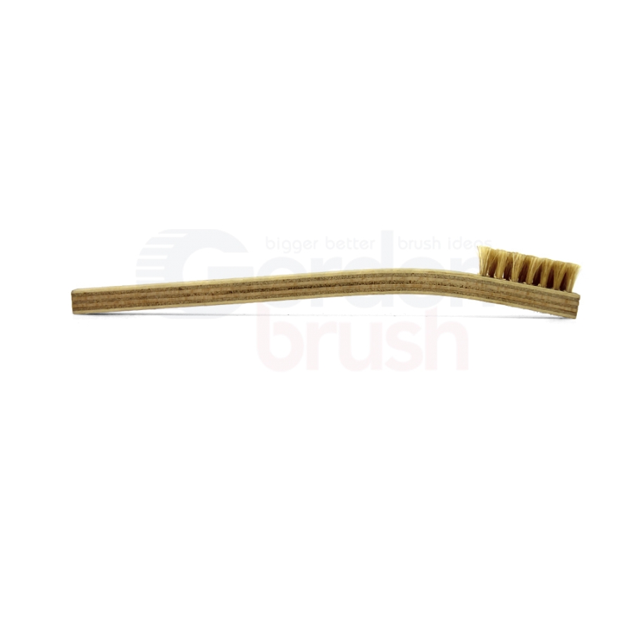 3 x 7 Row Horsehair Bristle and Plywood Handle Brush 3