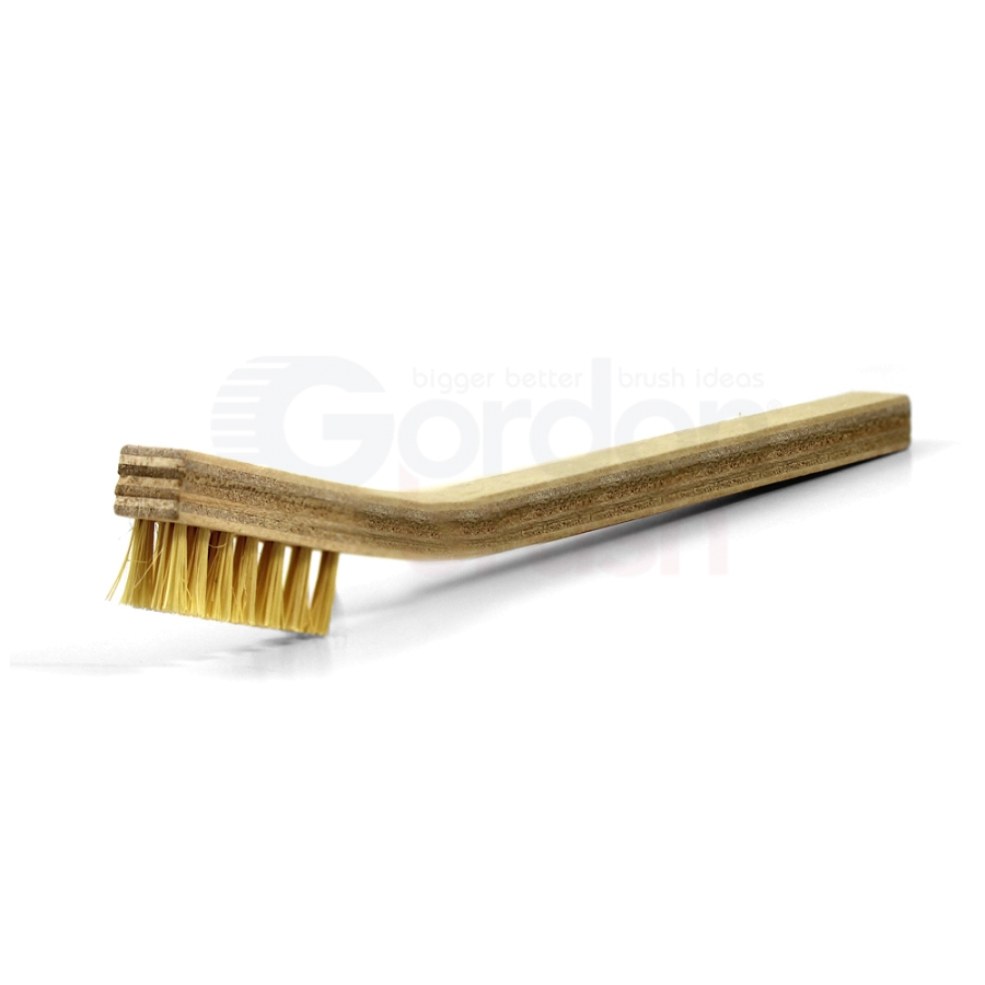 3 x 7 Row Tampico Bristle and Plywood Handle Scratch Brush