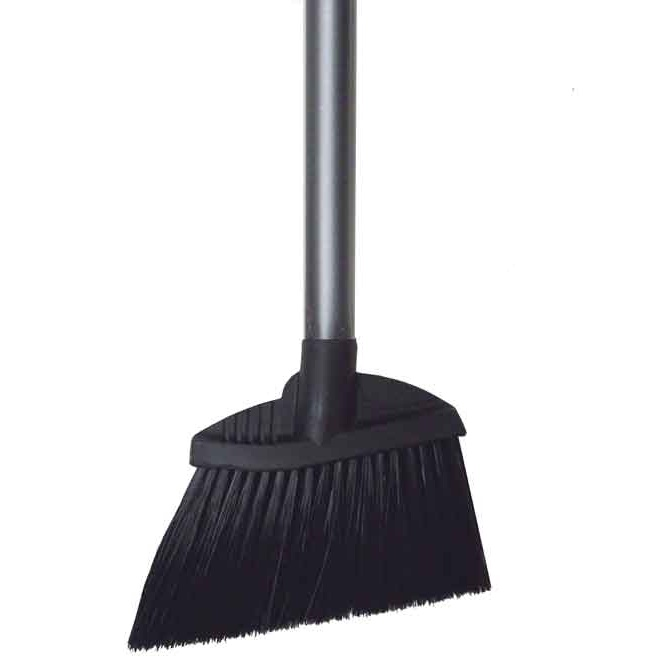 "36-1/2"" Lobby Broom with Stiff Polypropylene Bristles, with Handle"