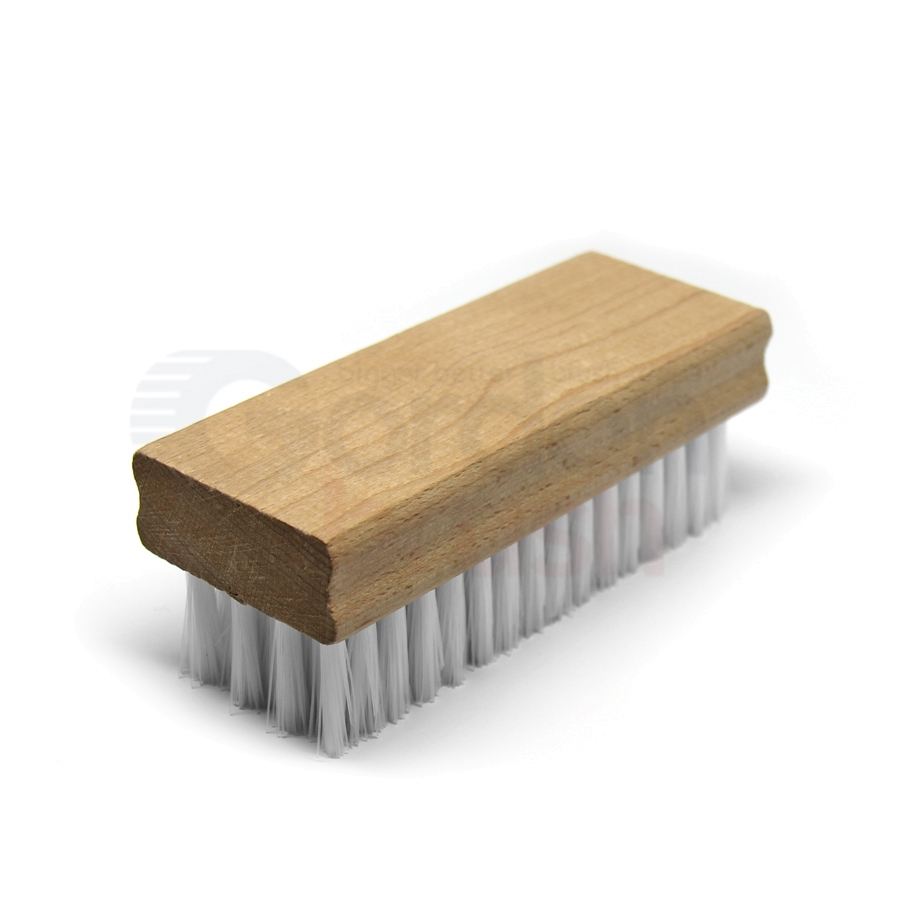 "4-1/2"" x 1-3/4"" .012"" Nylon Bristle Hand Scrub Block Brush"