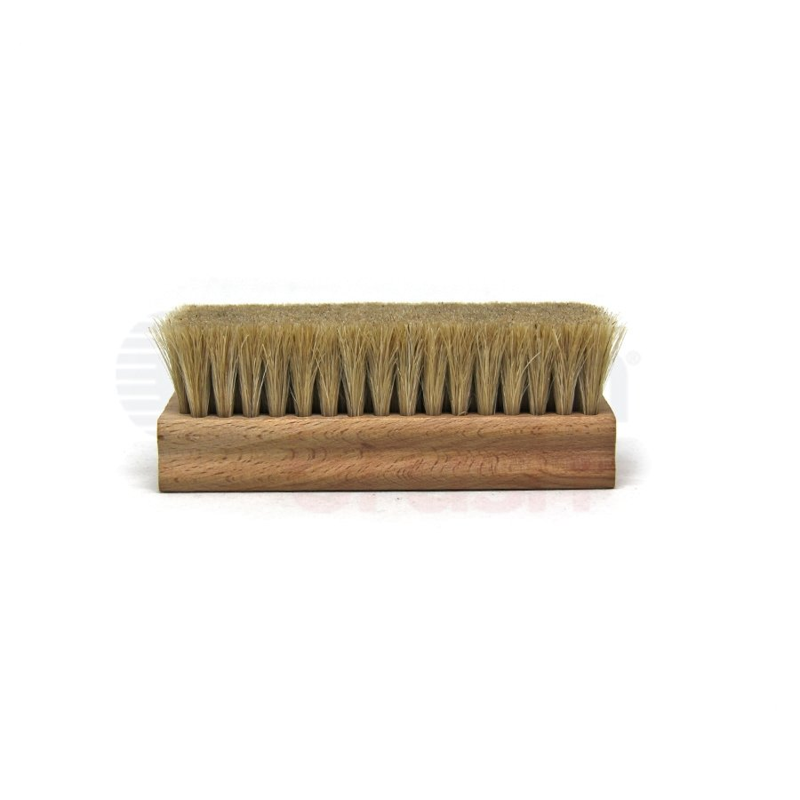 "4-1/2"" x 1-3/4"" Horsehair Bristle Hand Scrub Block Brush"