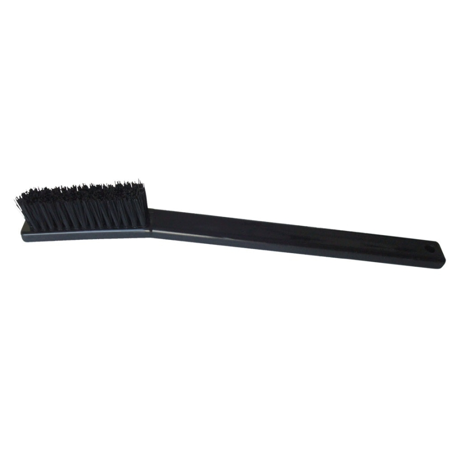"4 x 14 Row 0.010"" Nylon Bristle, Plastic Handle Brush"