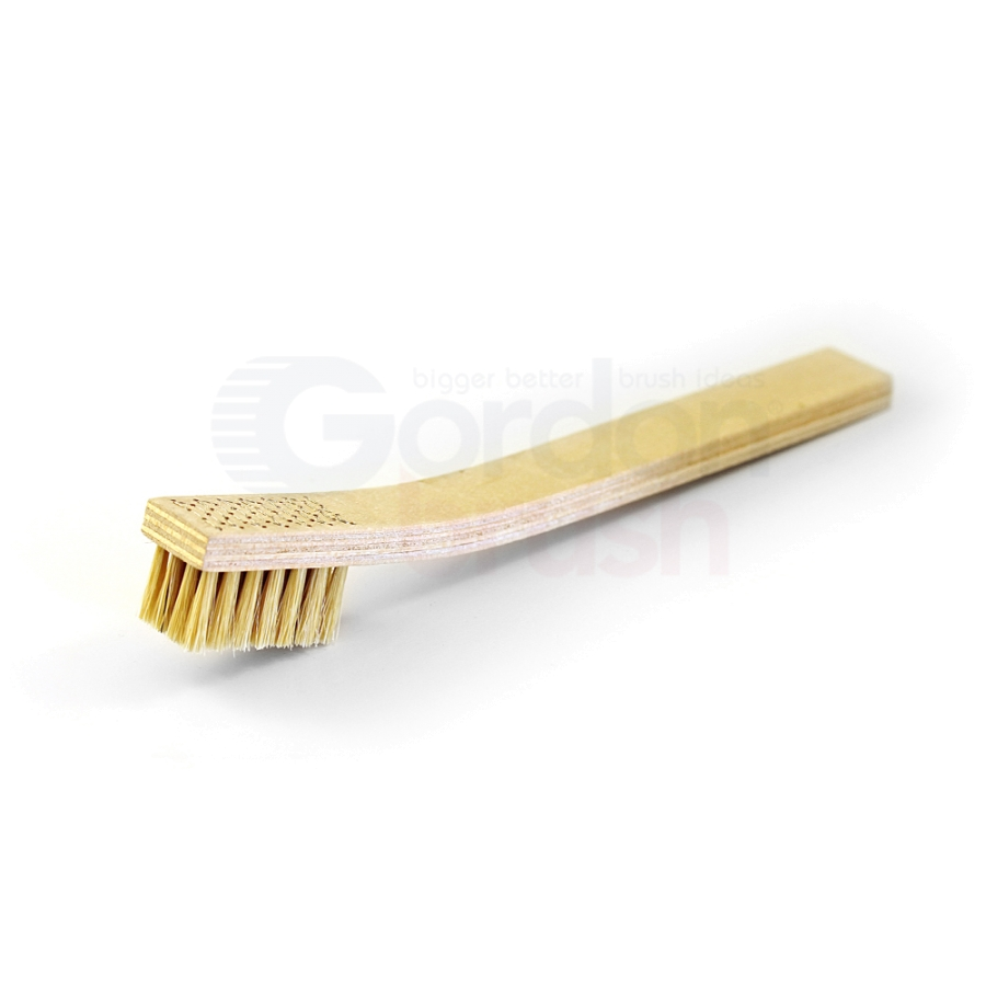 4 x 7 Row Hog Bristle and Plywood Handle Heavy Duty Scratch Brush