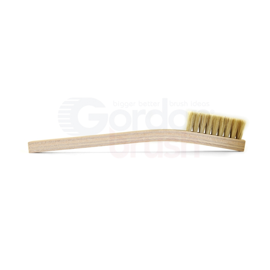 4 x 9 Row Hog Bristle and Plywood Handle Large Scratch Brush 3