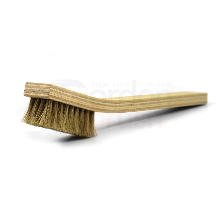 4 x 9 Row Horsehair Bristle and Plywood Handle Large Scratch Brush
