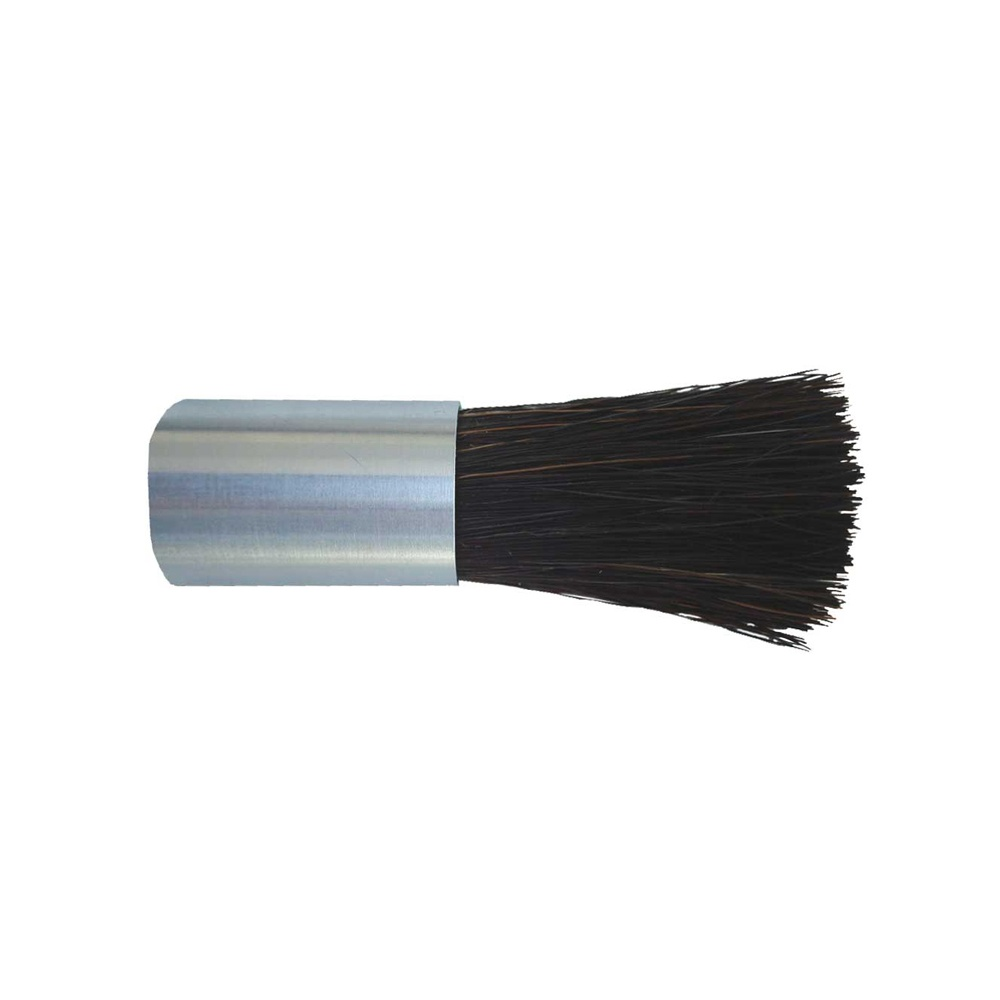"5/8"" Diameter Body, Black Horse Hair Fill, .125"" Orifice, Female Thread, Flow Thru Brush"
