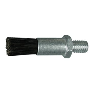 "5/8"" Diameter Body, Goat Hair Fill, .093"" Orifice, Male Thread, Flow Thru Brush"