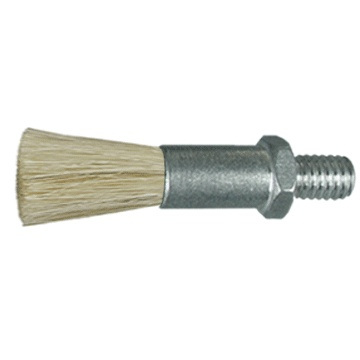 "5/8"" Diameter Body, Horsehair Fill, .093"" Orifice, Male Thread, Flow Thru Brush"