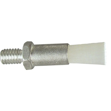 "5/8"" Diameter Body, Nylon Fill, .093"" Orifice, Male Thread Flow Through Brush"