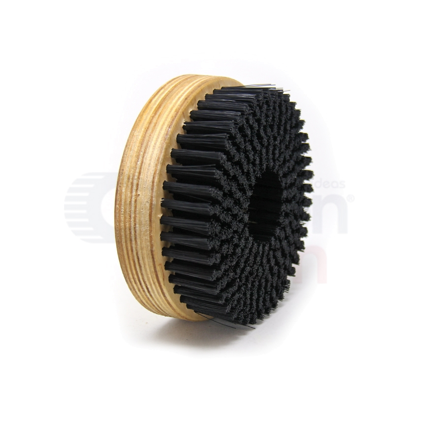 "5"" Diameter Nylon Rotary Scrub Brush 3"