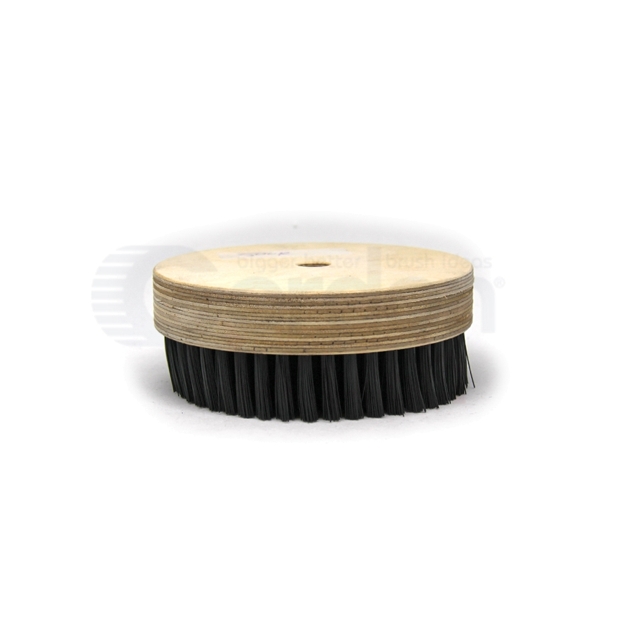"5"" Diameter Nylon Rotary Scrub Brush 2"