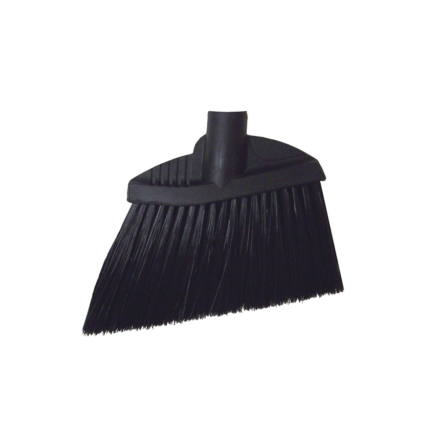 "6-1/2"" Lobby broom angled poly, without handle"