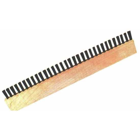 "60"" x 1"" .018"" Polypropylene Long Block Brushes (Lag Brushes)"