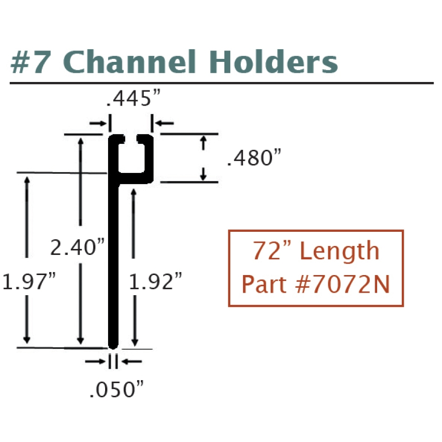 #7 Channel Holders 2