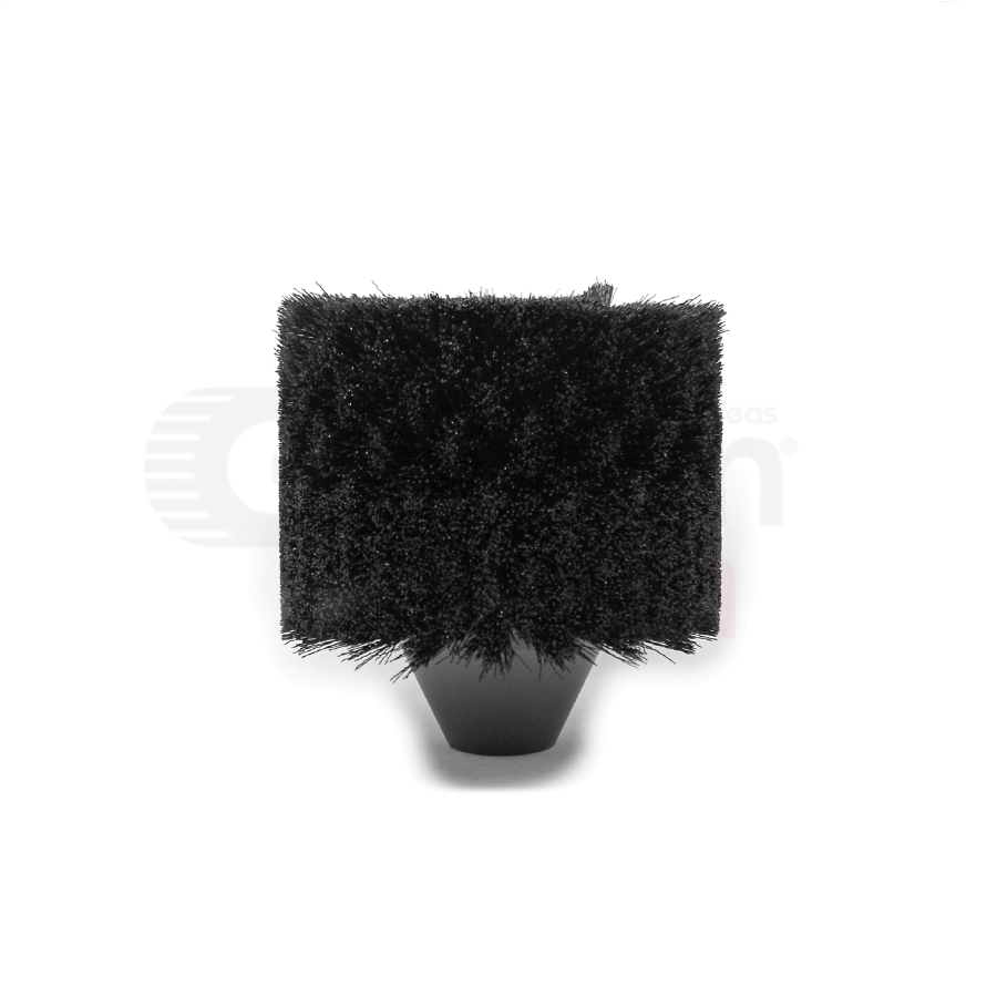 "7"" Nylon Bore Brush with .025"" Nylon Bristles"