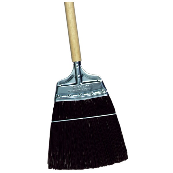 "8"" Extra Stiff Polypropylene Speedy Corn® Broom with Heavy Duty Bristles"